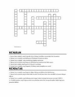Interactive worksheet Puzzle pramuka