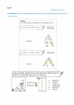Interactive worksheet Diftongs