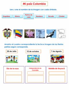 Interactive worksheet Colombia
