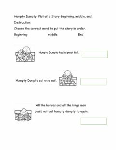 Interactive worksheet Story Elements (Plot)