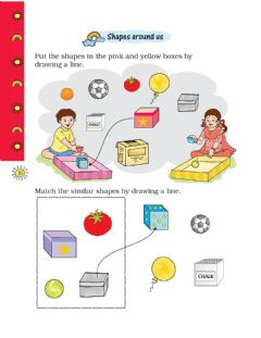 Interactive worksheet Shapes and space part-3