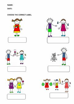 Interactive worksheet Personal Pronouns-