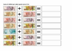 Interactive worksheet Comptar euros 2