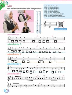 Interactive worksheet Notasi muzik
