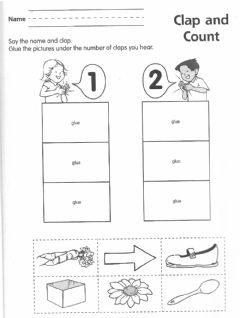 Interactive worksheet Drag and drop syllables