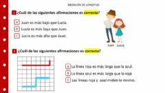 Interactive worksheet Medición: Longitud