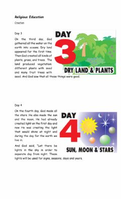 Interactive worksheet Creation day3 and 4