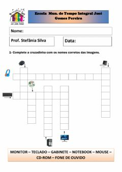 Interactive worksheet Informática Educacional