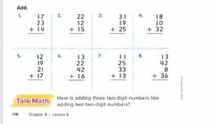Ficha interactiva Add two digit numbers