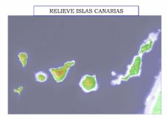 Interactive worksheet Relieve de Islas Canarias