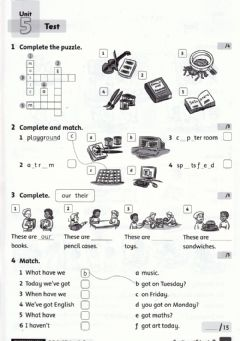 Interactive worksheet Family and Friends 2 Unit 5