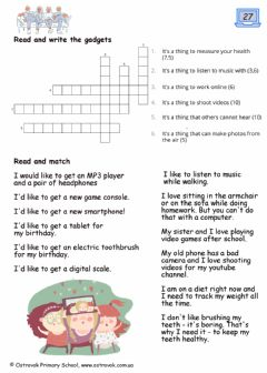 Interactive worksheet Lesson27