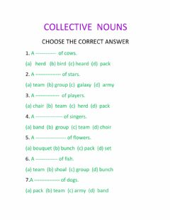 Interactive worksheet Grammar ---nouns