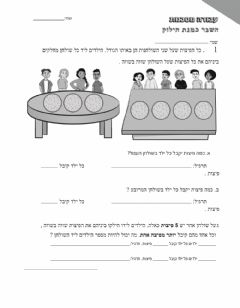 Interactive worksheet מבדק סופי שבר כחילוק