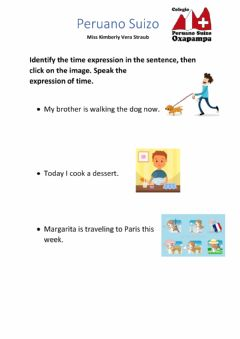 Ficha interactiva Time Expressions