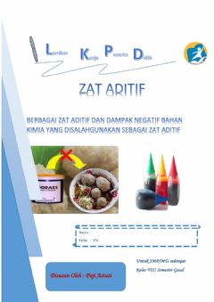 Interactive worksheet Lkpd Zat Aditif