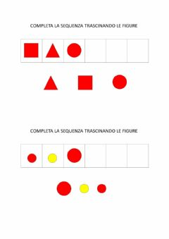 Interactive worksheet Blocchi logici