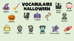 Interactive worksheet Vocabulaire halloween