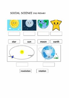 Interactive worksheet Science solar system