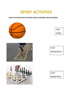 Interactive worksheet Sports