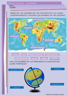 Interactive worksheet 5º sociales tema 2