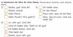 Interactive worksheet Hallo! Wie geht es dir?