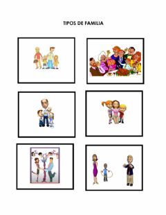 Interactive worksheet Familias