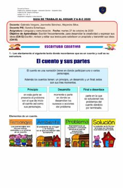 Interactive worksheet Escritura Creativa