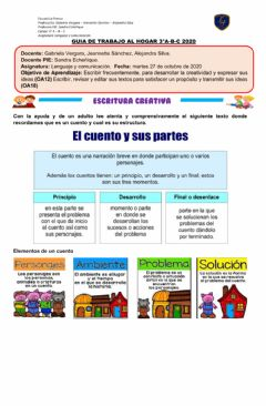 Interactive worksheet Escritura Creativa PIE