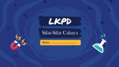 Interactive worksheet Percobaan Sifat-Sifat Cahaya