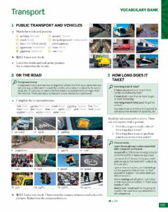 Interactive worksheet Vocabulary about Transport