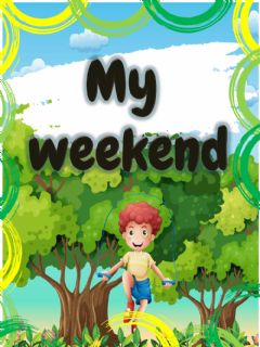 Ficha interactiva Weekend activities
