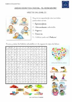 Interactive worksheet Ed. Física