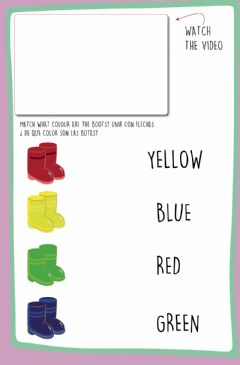 Interactive worksheet Colours