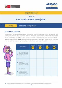 Interactive worksheet Jobs and occupations - W-17 (A2)