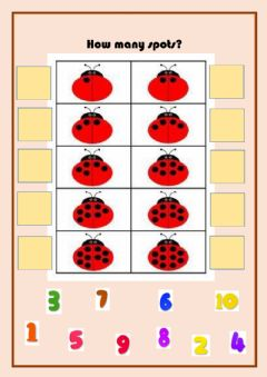 Ficha interactiva Counting from 1 to 10