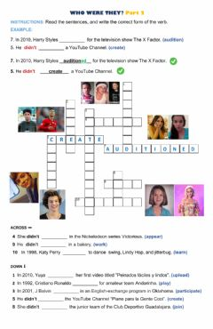 Interactive worksheet Who were they? Part 2
