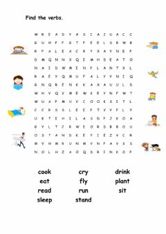 Ficha interactiva Wordsearch