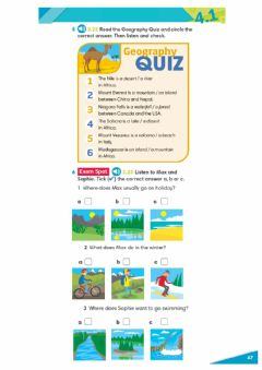 Interactive worksheet Geographical features