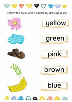 Interactive worksheet Color words