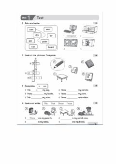 Ficha interactiva Family and Friends 2 units 1-3