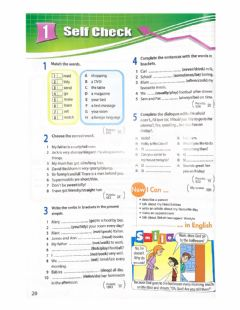 Interactive worksheet Self Check (Present Simple and other)