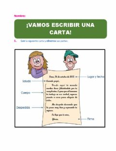 Interactive worksheet La carta