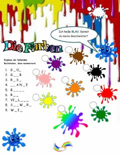 Interactive worksheet Farben Natalia 1