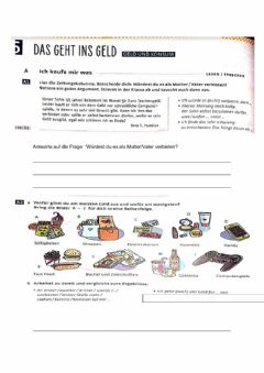 Interactive worksheet Geld