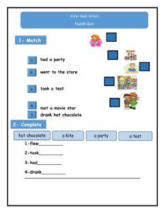 Interactive worksheet 4th grade