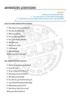 Interactive worksheet Revision Teens 2