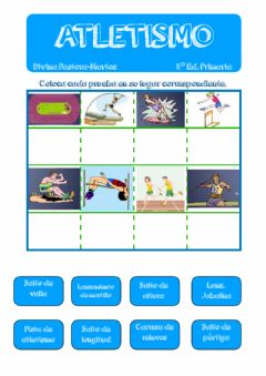 Interactive worksheet Atletismo