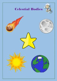 Interactive worksheet Celestial bodies