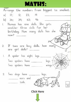 Interactive worksheet WEEK 32: TUESDAY: Mental Maths